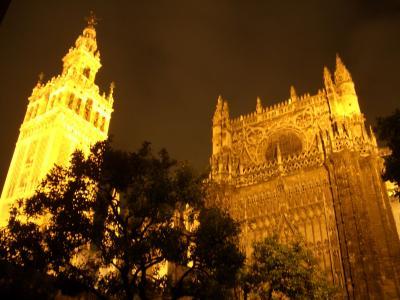 Nuit romantique à Séville