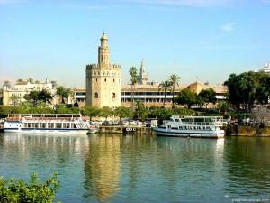 Vivre Séville depuis le Guadalquivir